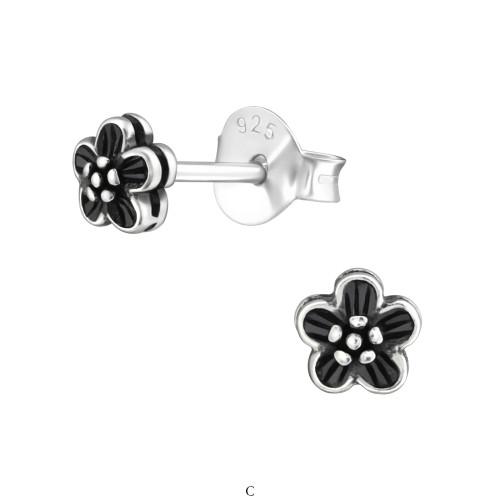b4c67c7ff8a Blomst - Simple ørestikker Sølv CH38176